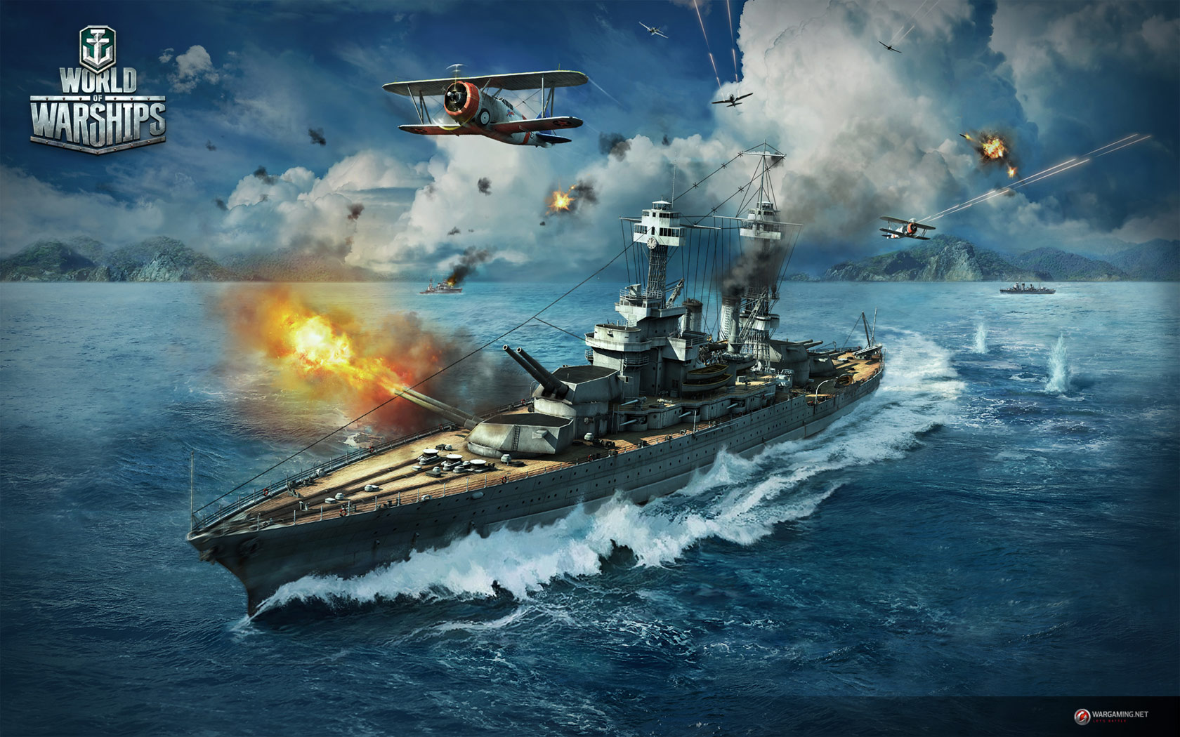 World of Warships Update 0.6.1