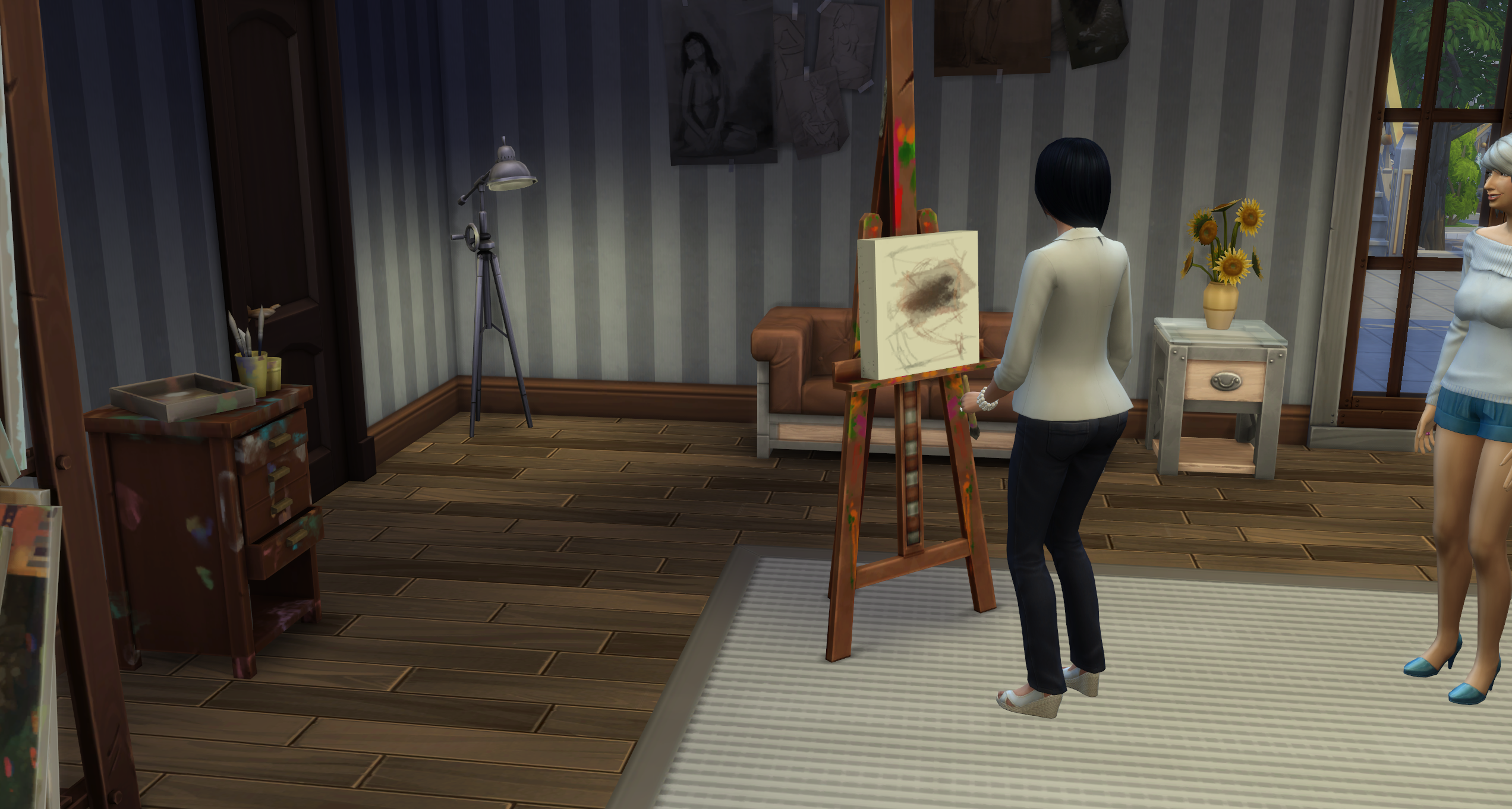 how to build in sims 4 without money