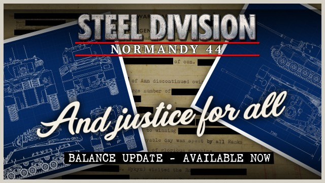 Steel Division: Normandy 44 – Patch Notes (6/14/17)