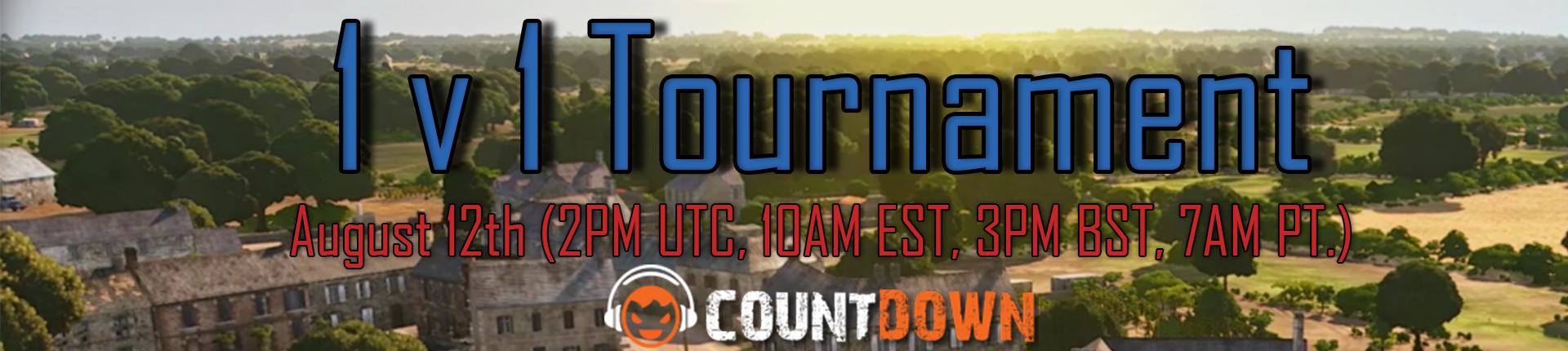 Steel Division 1v1 Tournament August 12th (2PM UTC, 10AM EST, 3PM BST, 7AM PT.)
