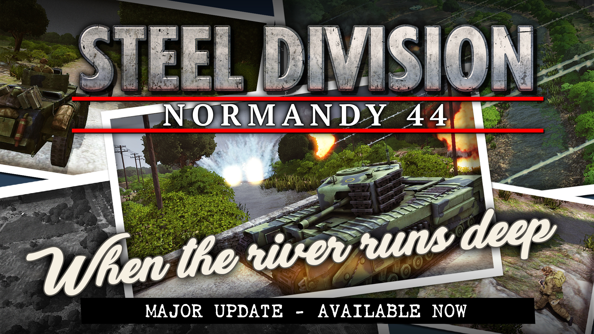 Steel Division: Normandy 44 – Patch Notes (8/9/17)
