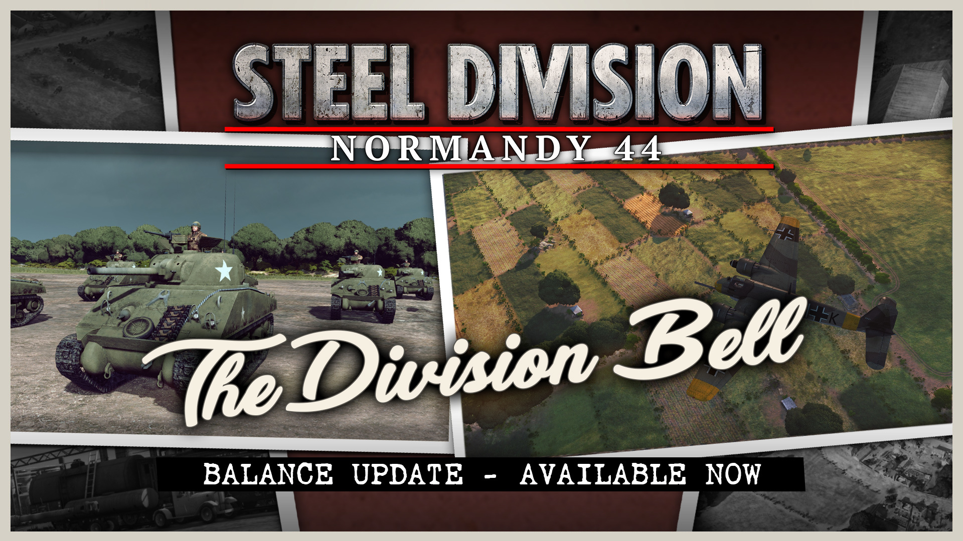 Steel Division: Normandy 44 – Patch Notes (8/31/17)